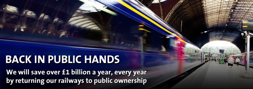 Bring railways back into public hands