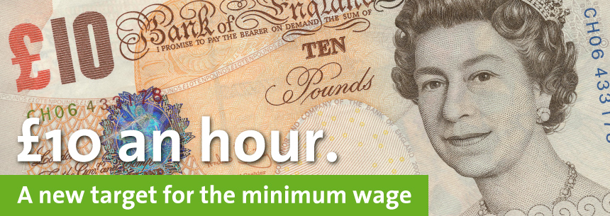 Green Party calls for £10 minimum wage